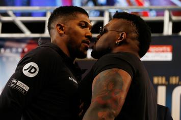 "Jarrell Miller Pulls Anthony Joshua's G-Card, Questions Boxer's ""Public Image"""