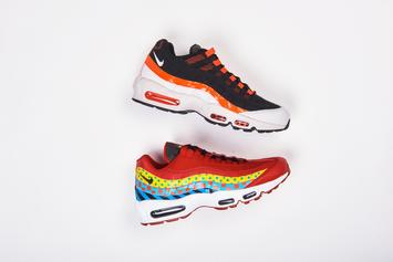 """""""Baltimore"""" Nike Air Max 95s Releasing As Part Of """"Home & Away"""" Collection"""