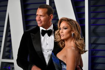 Jennifer Lopez's Fiancé Alex Rodriguez Has Possible Black Eye After Cheating Rumors