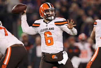 "Baker Mayfield Says He'll ""Love"" Playing With OBJ And Jarvis Landry"