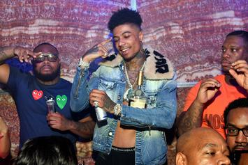 """Blueface Teases The Ladies With Provocative """"Thotiana"""" Performance"""