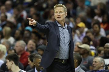 Steve Kerr Calls Warriors Loss To The Suns A Wake-Up Call