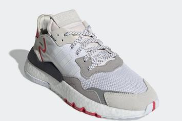 "Adidas Nite Jogger In ""Light Grey/Red"" Will Reportedly Drop Next Month"