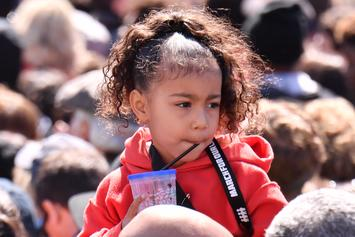 """North West's Dance Moves Steal The Show At Kanye West's """"Sunday Service"""""""