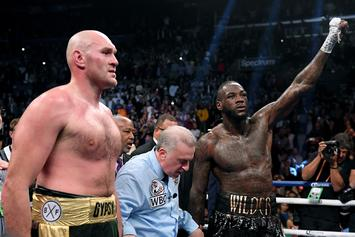 """Deontay Wilder Says Tyson Fury Rematch Will """"Probably"""" Happen In 2020"""
