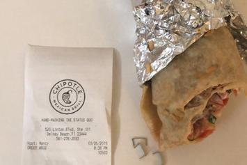 MMA's Jimmy Smith Roasts Chipotle After Finding 13 Staples In Burrito