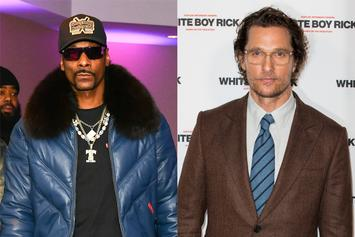 "Matthew McConaughey & Snoop Dogg Tell Weed Stories From ""Beach Bum"" Set"