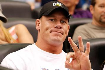 John Cena Spotted Out With Mystery Brunette In Vancouver