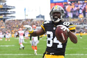 Antonio Brown Waiting On Jimmy Butler's $30K From Unpaid Bet