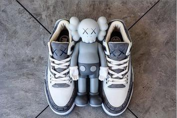 KAWS x Air Jordan 3 Customs Might Be Better Than The Air Jordan 4 Collab