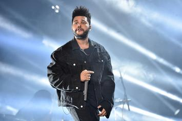 """The Weeknd Sued For Allegedly Ripping Off """"A Lonely Night"""" From U.K. Songwriters"""