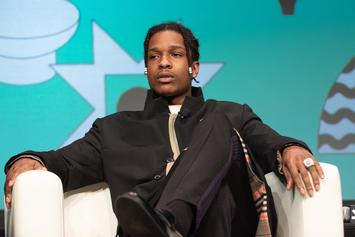 A$AP Rocky Heated After Fan Tries To Steal His Shoe On Stage