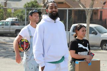"L.A. Gangs Came Together For ""Unity Walk"" To Honor Nipsey Hussle & Discuss Truces"