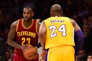 LeBron James Doesn't Think It's Fair That Fans Compare Him To Kobe Bryant