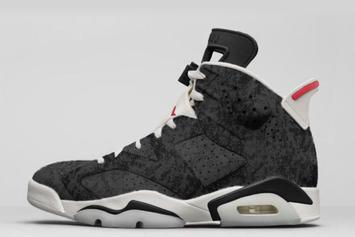 "Air Jordan 6 ""Black Washed Denim"" Rumored To Debut This Year"