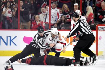Alexander Ovechkin Knocks Out 19-Year-Old Hurricanes Player In Big Fight