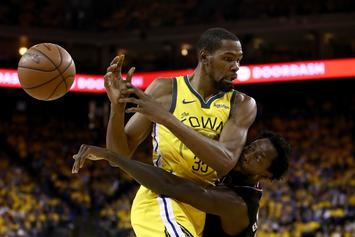 "Kevin Durant Dismisses Patrick Beverley Beef: ""Y'all Know Who I Am"""