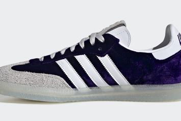 "Adidas Honors The Stoners With ""Purple Haze"" Samba For 420"