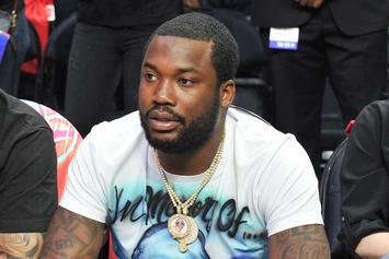 "Meek Mill Continues To Tease His Mystery Girlfriend: ""Gave Me More Than I Needed"""