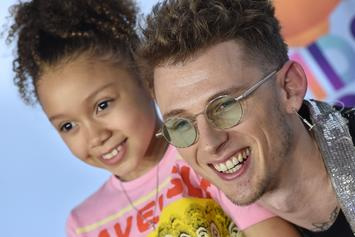 Machine Gun Kelly & His Daughter Sing To Billie Eilish With Pete Davidson