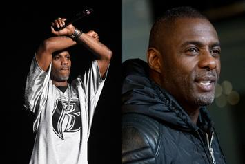 DMX & Idris Elba Post Up At Coachella