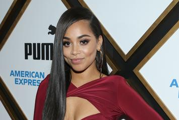 "Lauren London Promotes New BET Series ""Games People Play"" On Social Media"