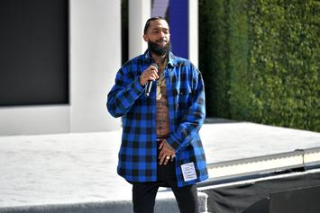 Nipsey Hussle Fans Rally To Get Blue Crayola Crayon Named After Rapper
