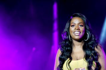 Remy Ma Poses For Pics While Wearing Ankle Monitor