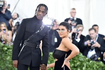 Kylie Jenner Gifts Travis Scott A Billboard For His Birthday
