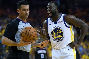"Draymond Green Laughs At James Harden For Wanting A ""Fair Shot"""
