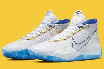 "Nike KD 12 ""Warriors"" Release Date Confirmed: Official Images"