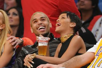 Chris Brown Applauds Rihanna's New Lingerie Photo In The Comments
