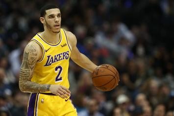 "Lonzo Ball Explains Reason He Covered Up ""Big Baller Brand"" Tattoo"