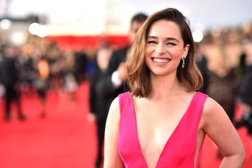 """Emilia Clarke Jokingly Solves Mysterious """"Game Of Thrones"""" Starbucks Cup Case"""