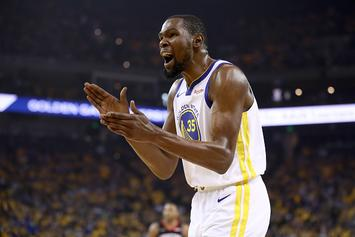 """Kevin Durant May Reconsider Leaving Warriors Due To Recent """"Fan Appreciation"""""""
