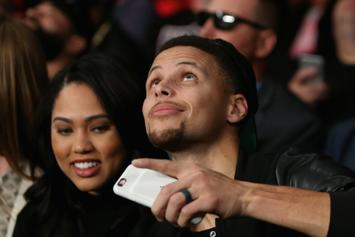 "Warriors Contend With ""Ayesha Curry"" Trollery During Series-Clincher Over Rockets"