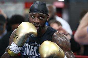"Deontay Wilder Calls Anthony Joshua ""Desperate"" Over Fight Negotiations"