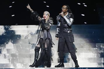 Quavo & Madonna Perform In Israel Despite Pleas From Anti-War Activists