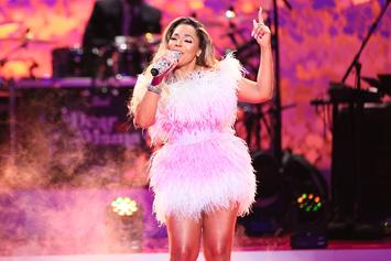 Ashanti Gives Ginuwine Heart Palpitations With Curvaceous Lap Dance