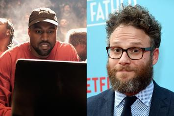 Seth Rogen Celebrates Kanye West's Mad Virtuosic Genius