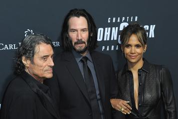 """Halle Berry Gives Thanks For """"John Wick 3"""" Becoming #1 Film In America"""