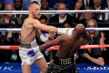 """Conor McGregor Gunning For Floyd Mayweather Rematch: """"I Would Win"""""""