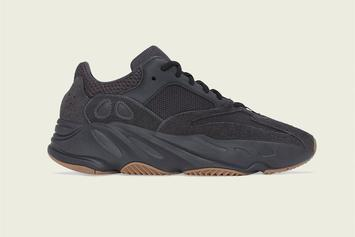 """Adidas Yeezy Boost 700 """"Utility Black"""" Release Date Announced"""