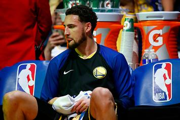 Klay Thompson Reacts To All-NBA Snub: Video