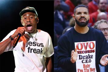 "Tyler, The Creator Flirts Publicly With Drake: ""Send Nudes"""
