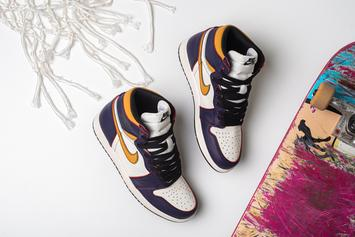 "Nike SB x Air Jordan 1 ""LA To Chicago"" Drops This Weekend: Detailed Look"