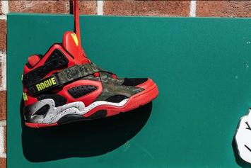 "Capone-N-Noreaga x Ewing Athletics ""War Report"" Collab Coming Soon: New Images"
