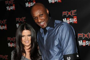 """Lamar Odom Thanks Khloe Kardashian """"For Being There"""" During His Dark Times"""
