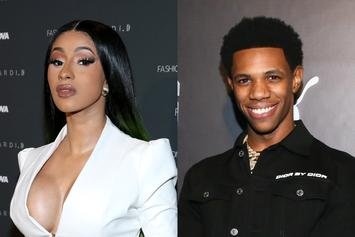 Cardi B Reveals Collaboration With A Boogie Wit Da Hoodie Is Coming Soon