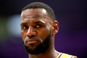 LeBron James Gets A Little Too Excited About Taco Tuesday: Watch